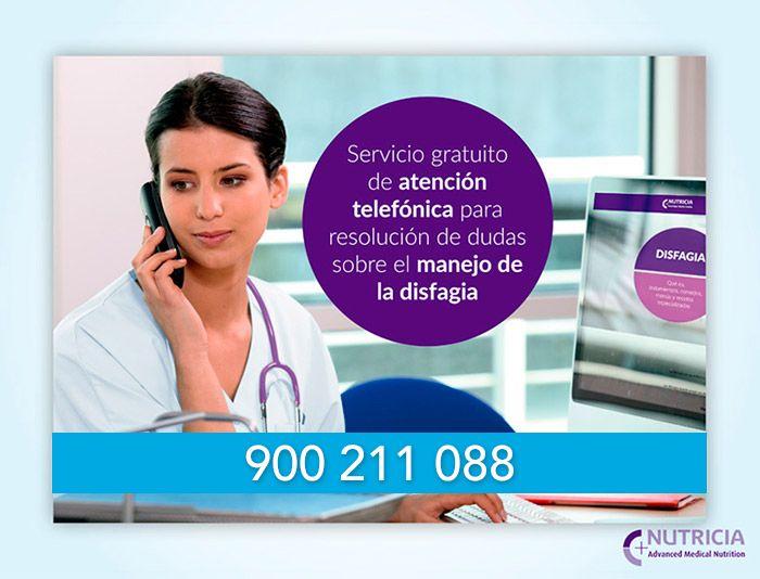 Atención telefónica para el manejo de la Disfagia